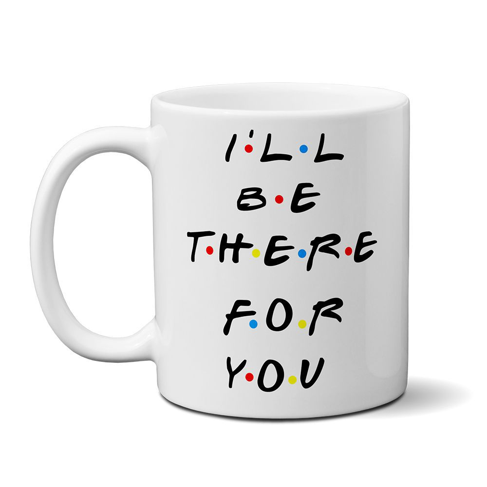 Caneca Friends - I ll Be There For You + Saquinho