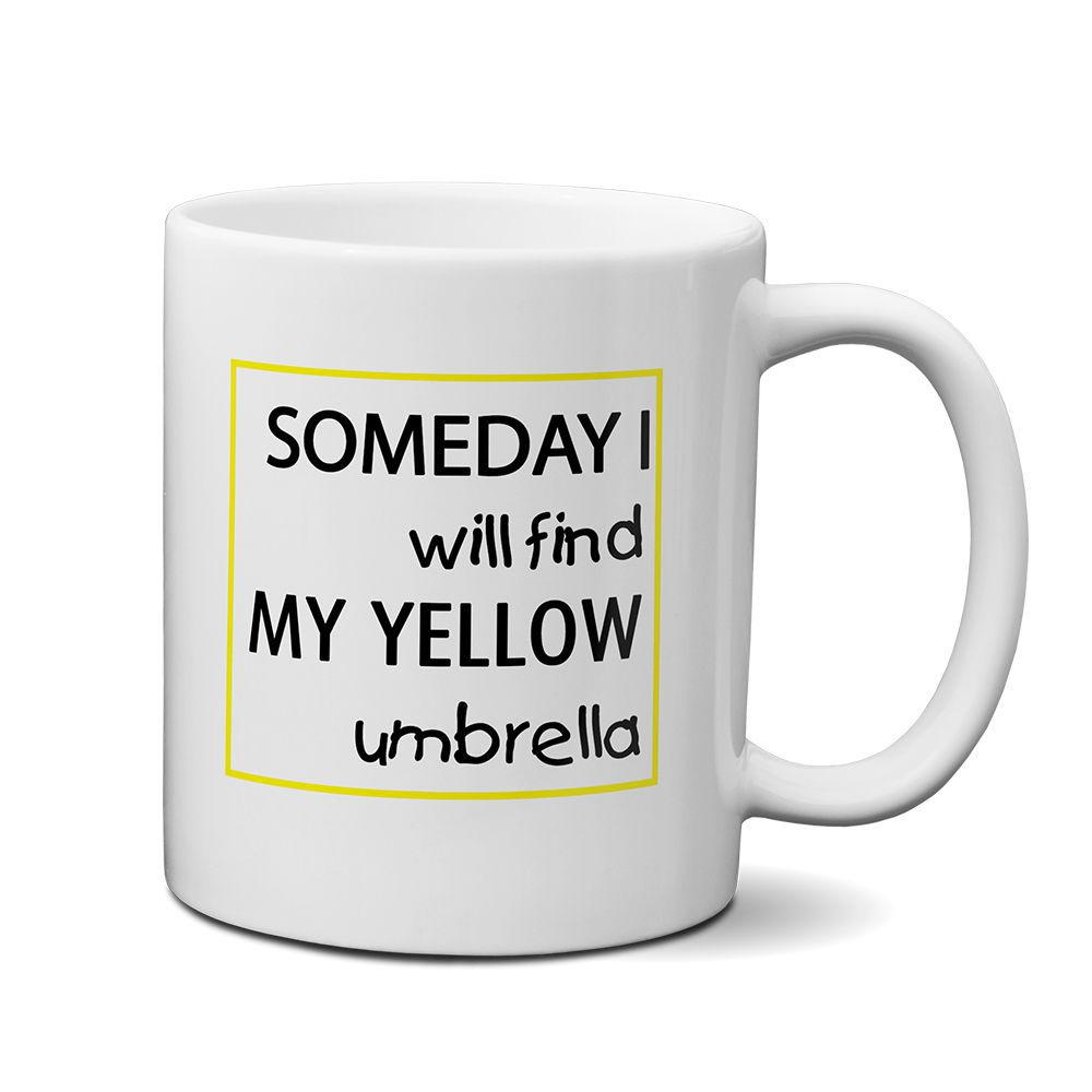 Caneca How I Met Your Mother Yellow Umbrella Mod01