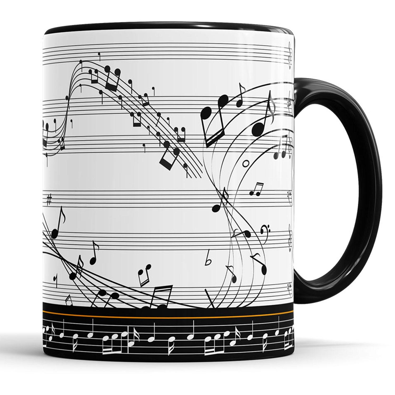 Caneca Musica Violão  - ELICOMICS PRODUTOS PERSONALIZADOS