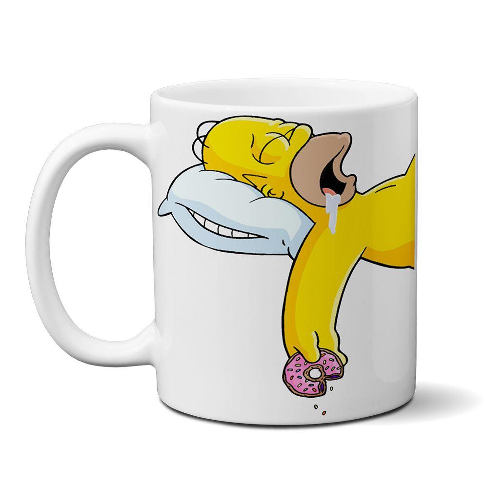 Caneca Os Simpsons Homer Sleep Mod02
