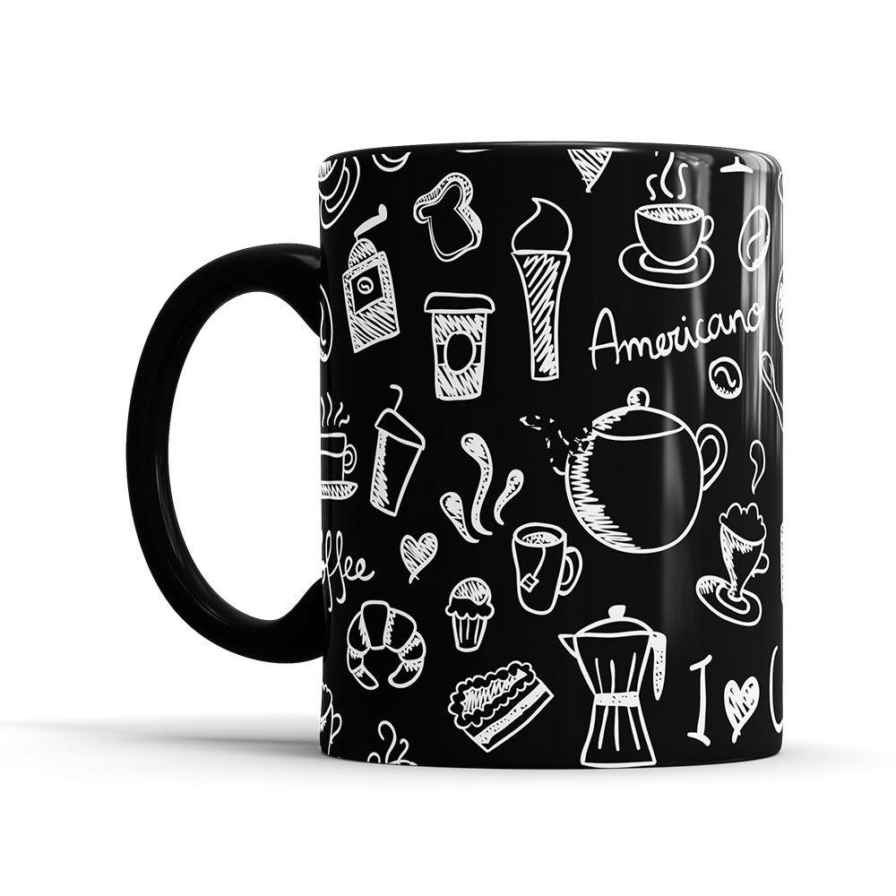 Caneca Café   - ELICOMICS PRODUTOS PERSONALIZADOS
