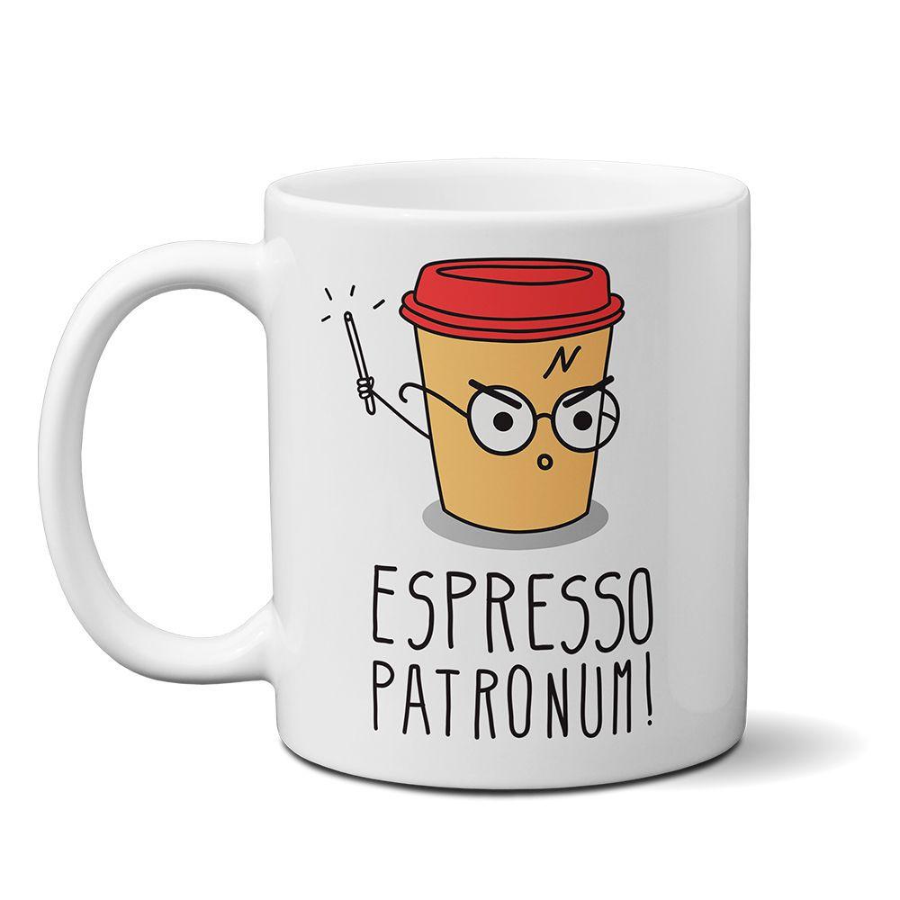 Caneca Personalizada Harry Potter - Expresso Patronum