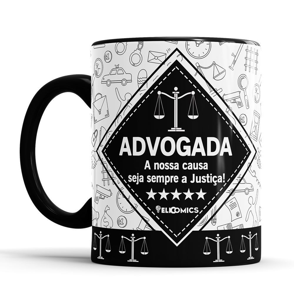 Caneca Personalizada Profissão - Advogada