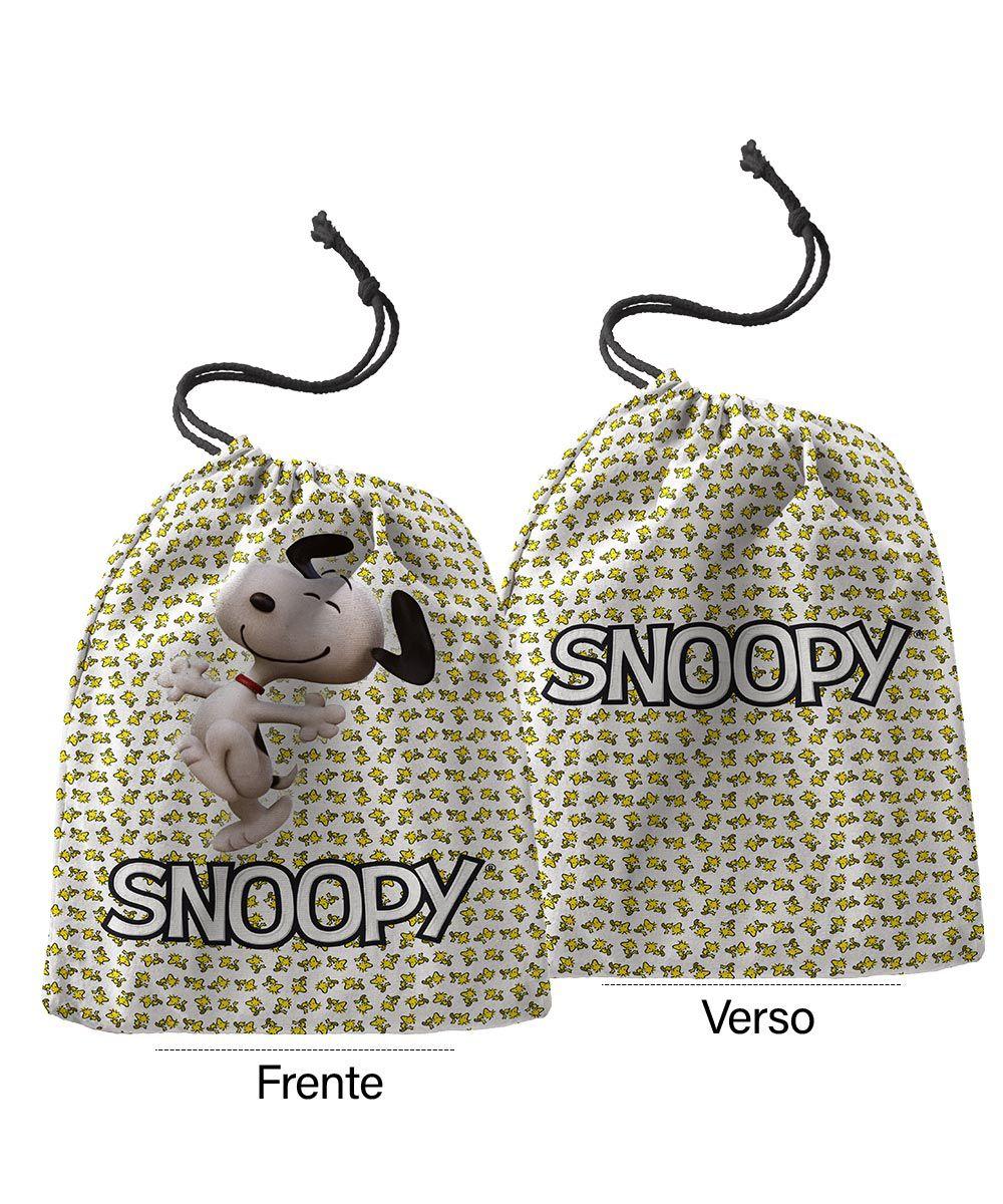 Caneca Personalizada Snoopy + Saquinho