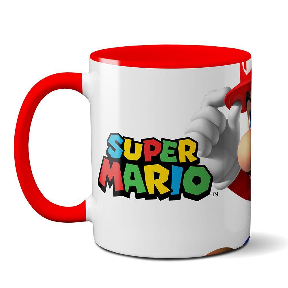 Caneca Personalizada  Super Mário