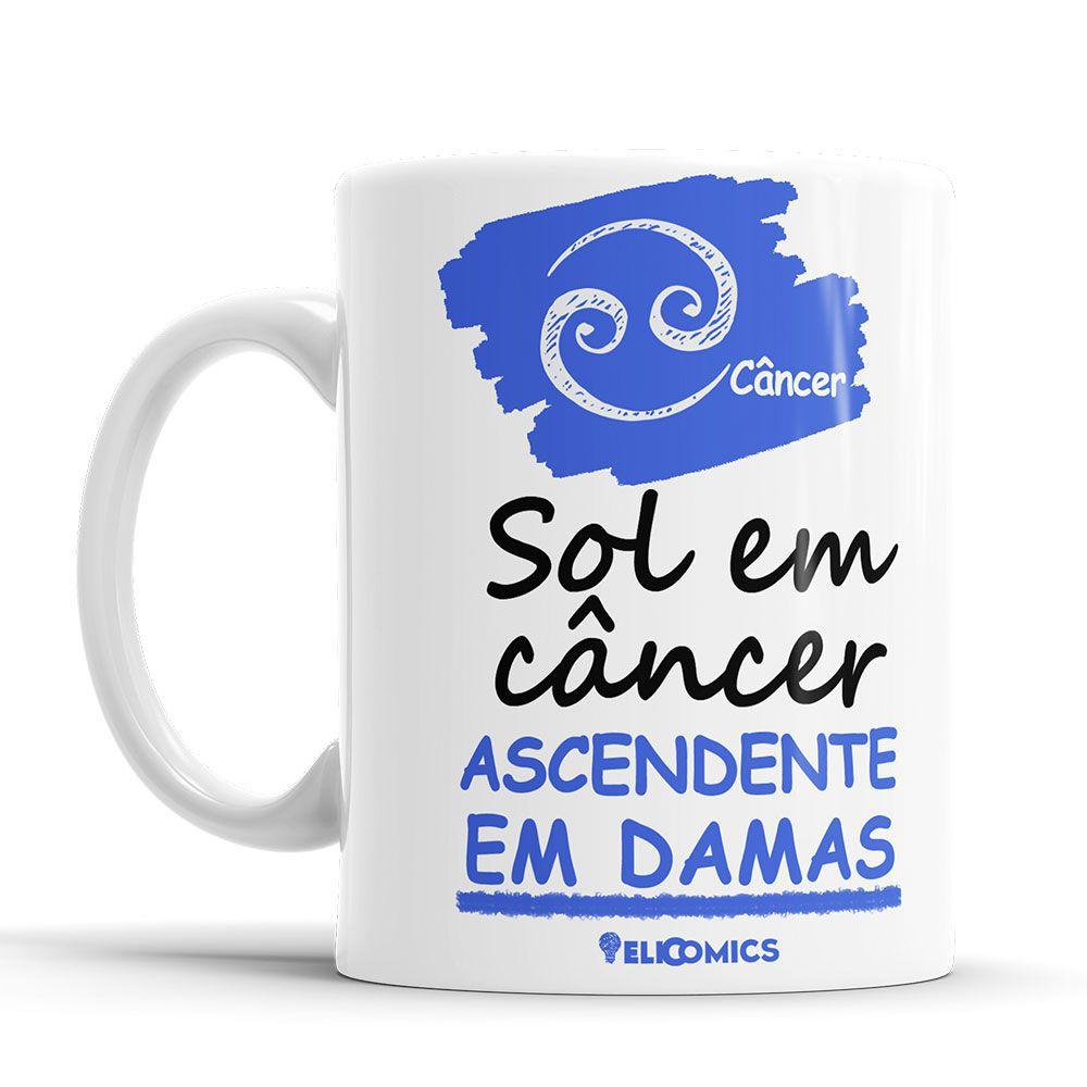 Caneca Signo Zodiaco Câncer
