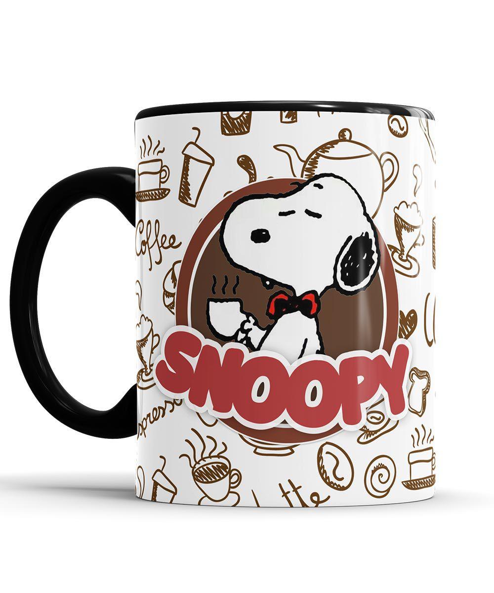 Caneca Snoopy Café