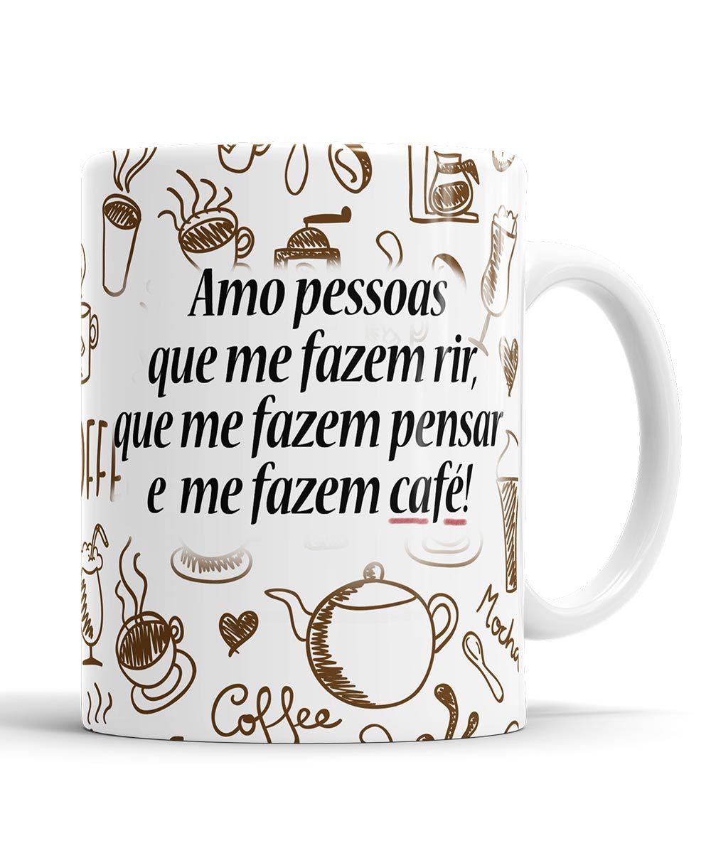 Caneca Snoopy Café + Saquinho