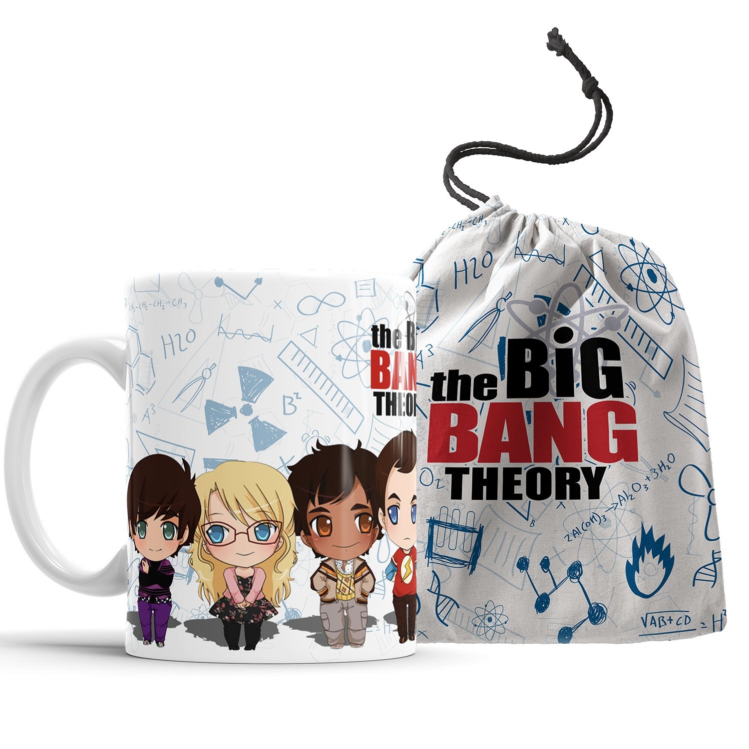 Caneca The Big Bang Theory + Saquinho