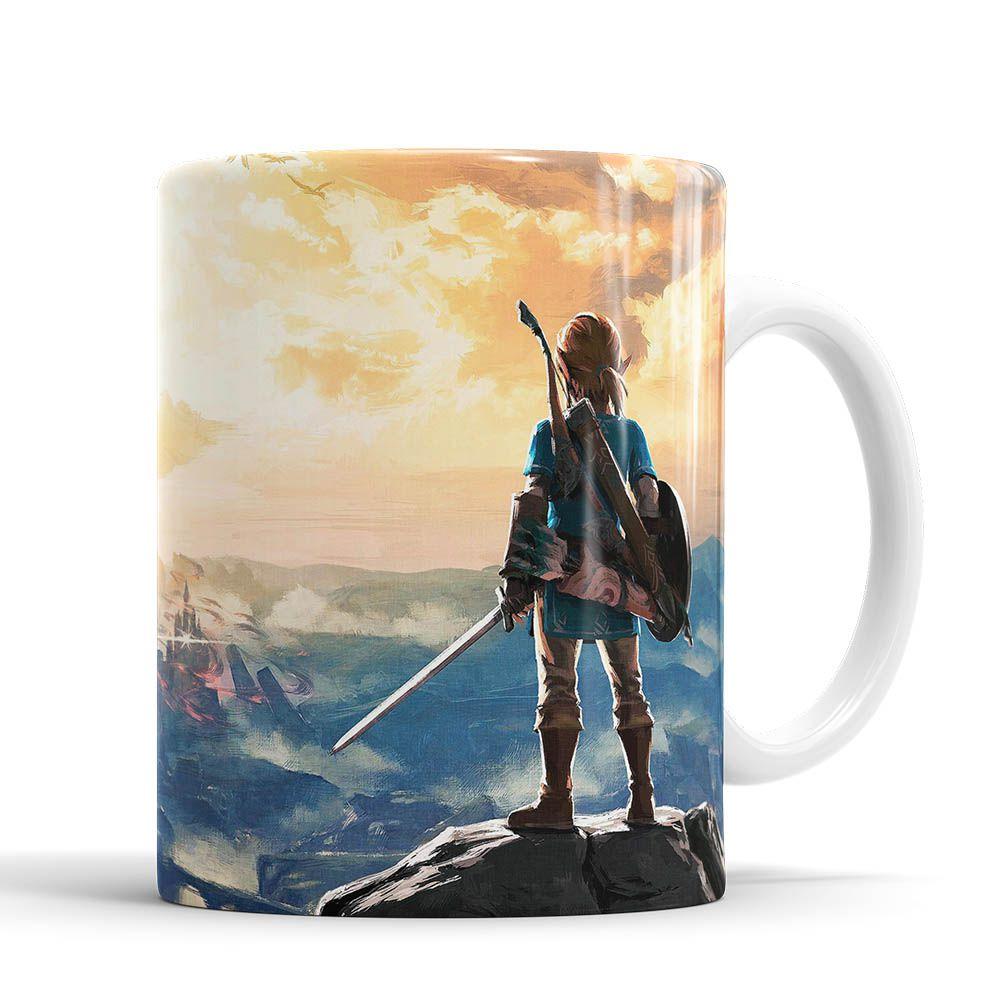 Caneca Legends Of Zelda Link Nintendo