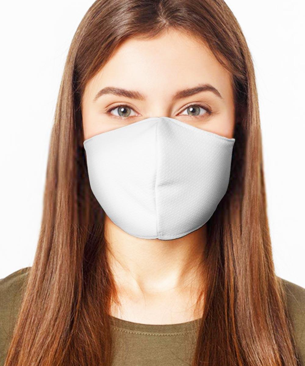 Máscara de Proteção de Tecido Duplo - Flores Mod02