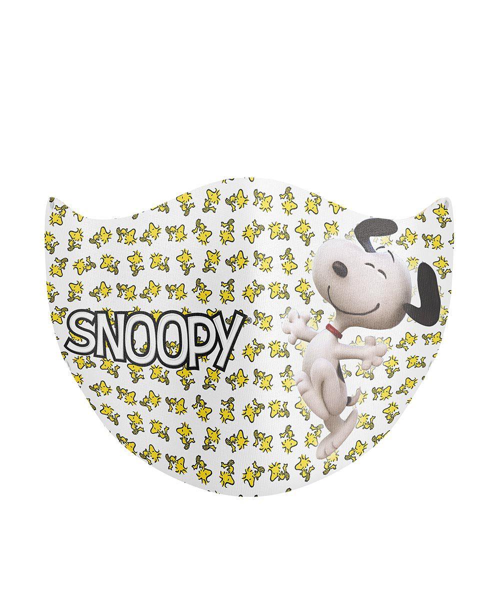 Máscara de Proteção de Tecido Duplo - Snoopy
