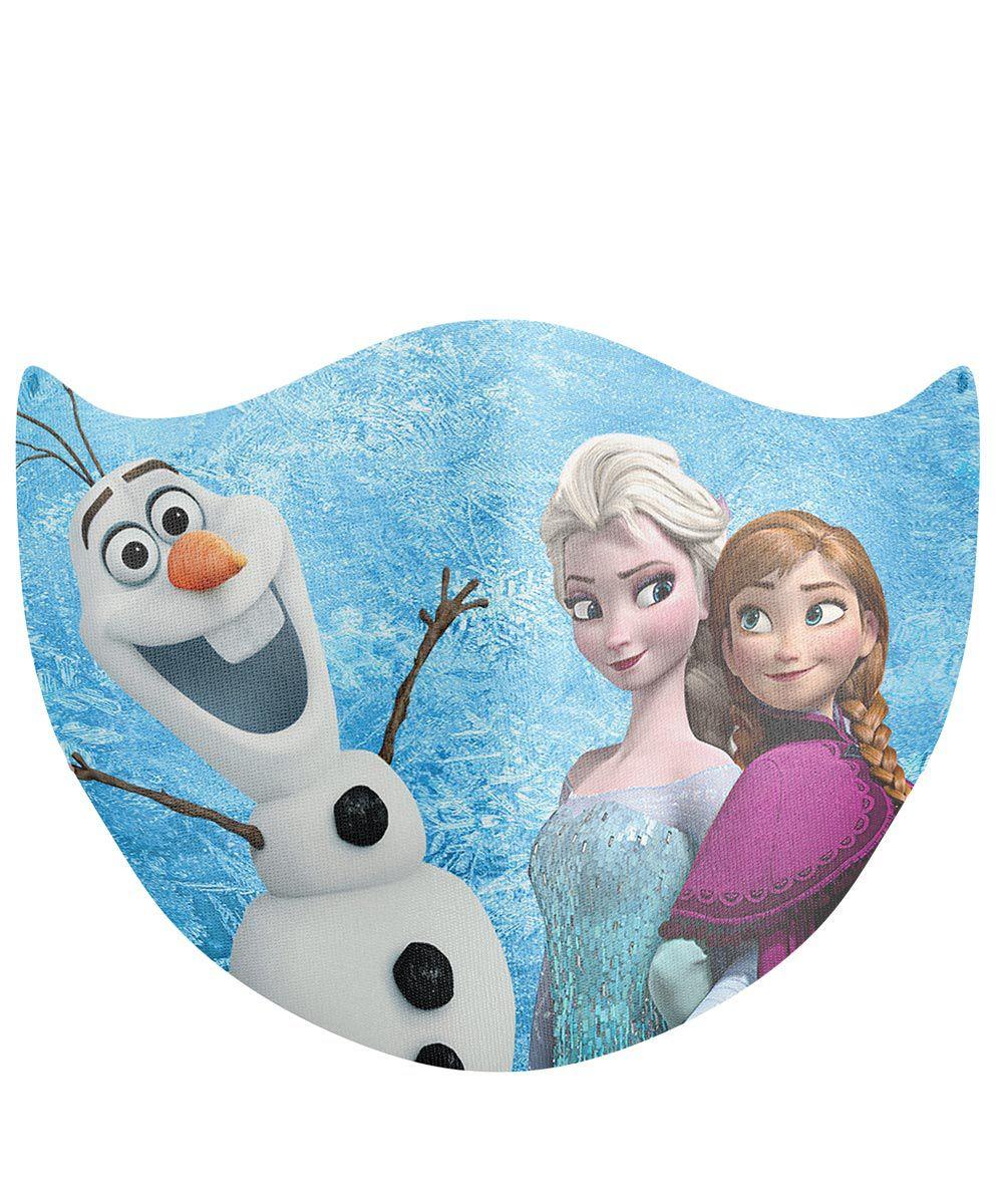 Máscara Proteção Em Tecido Lavável - Frozen Ana Elsa