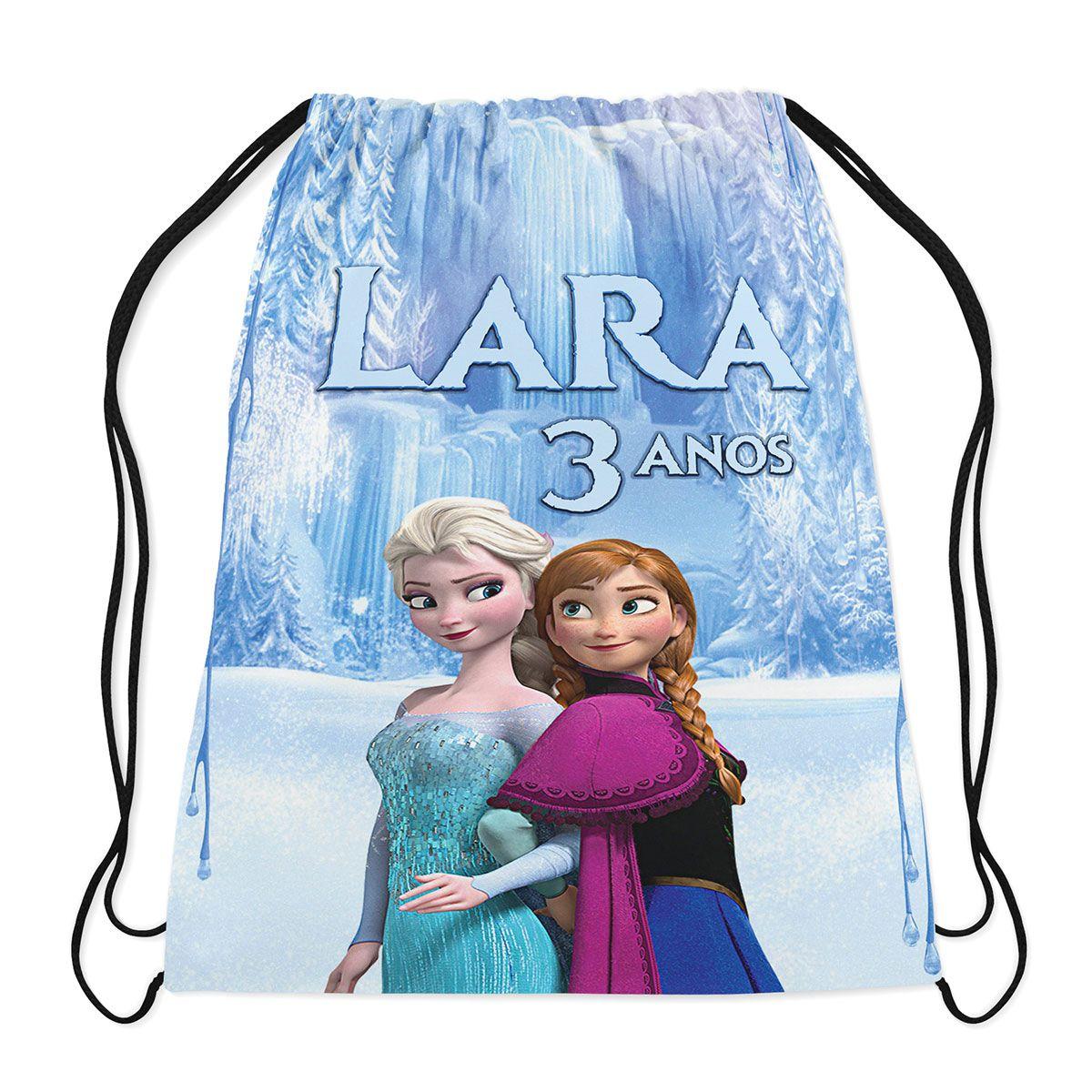 Mochilinha Personalizada Frozen