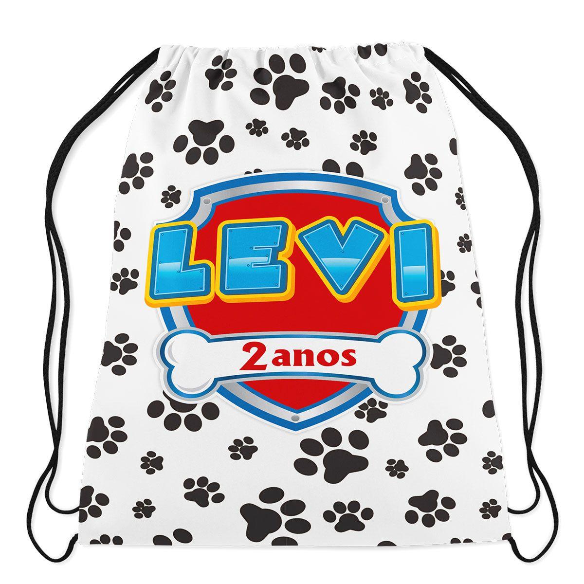 Mochilinha Personalizada Patrulha Canina