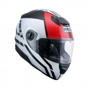 Capacete Helt NEW RACE GLASS ALL STAR c oculos