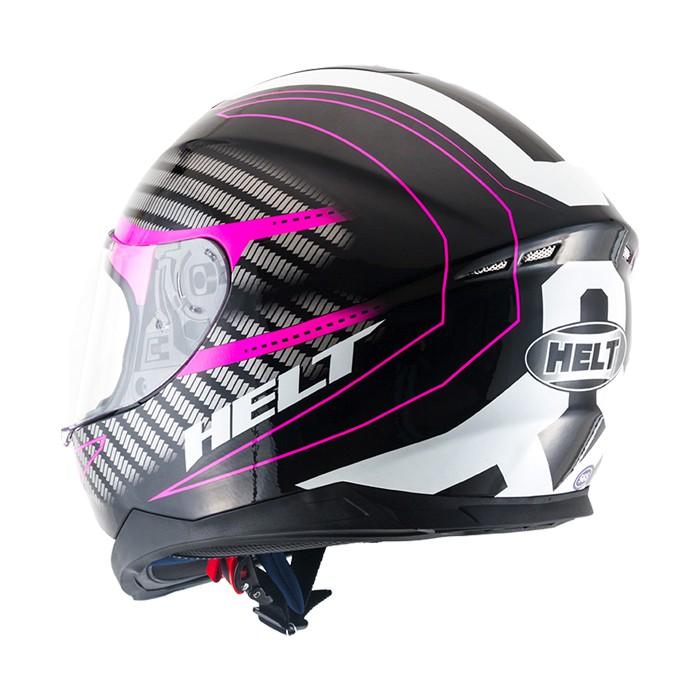 Capacete Helt NEW RACE CHARME Rosa