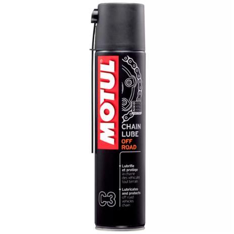 Lubrificante Motul Spray Graxa p/ Corrente Chain Lube  c4 400ml