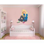 Adesivo Decorativo Barbie 0001