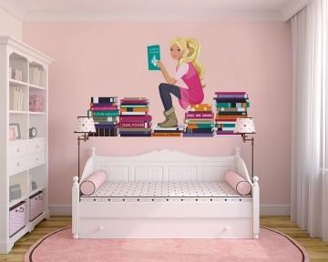 Adesivo Decorativo Barbie 0002