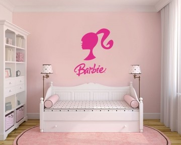 Adesivo Decorativo Barbie 0005