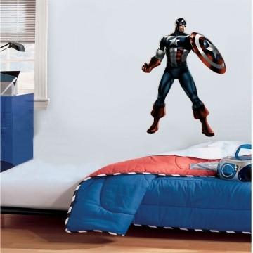 Adesivo Decorativo Heróis 0004