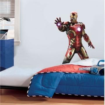 Adesivo Decorativo Heróis 0011