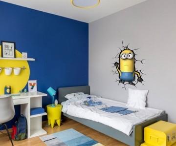 Adesivo Decorativo Minions 0007
