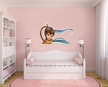 Adesivo Decorativo Tinkerbell 0010