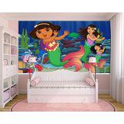 Papel de Parede Infantil Dora Aventureira 0002