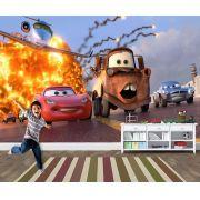 Pape de Parede 3D Carros  0018 - Papel de Parede para Quarto