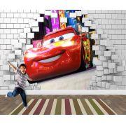 Pape de Parede 3D Carros  0028 - Papel de Parede para Quarto