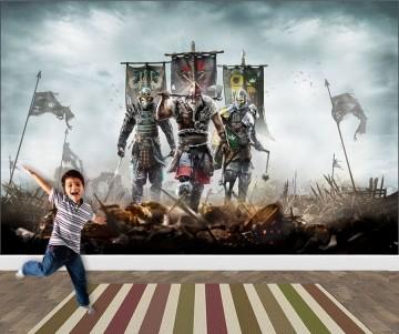 Papel de Parede 3D Games 0024 - Papel de Parede Para Quarto