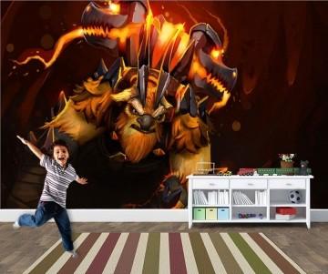 Papel de Parede 3D Games 0031 - Papel de Parede Para Quarto