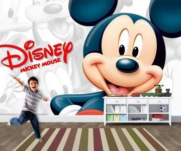 Papel de Parede 3D Mickey 0007 - Papel de Parede para Quarto