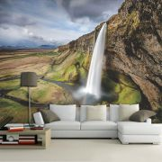 Papel De Parede 3D | Cachoeiras 0001 - papel de parede paisagem