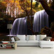 Papel De Parede 3D | Cachoeiras 0017 - papel de parede paisagem