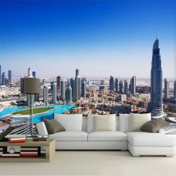 Papel De Parede 3D | Cidades Dubai 0007 - Sobmedida: m²