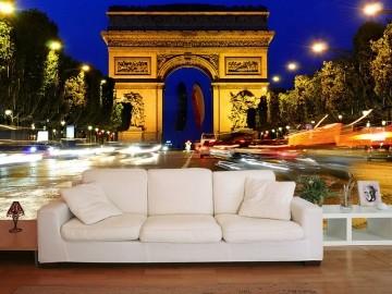 Papel De Parede 3D | Cidades França 0001 - Adesivo de Parede