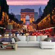 Papel De Parede 3D | Cidades França 0004 - Adesivo de Parede
