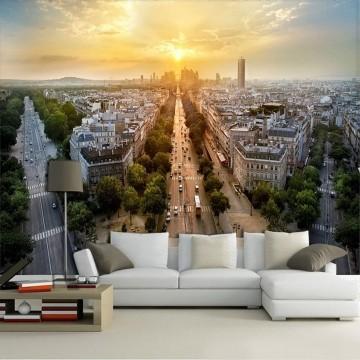Papel De Parede 3D | Cidades França 0006 - Adesivo de Parede