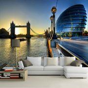 Papel De Parede 3D | Cidades Inglaterra 0002 - Adesivo de Parede