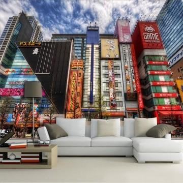 Papel De Parede 3D | Cidades Japão 0004 - Papel de Parede para Sala