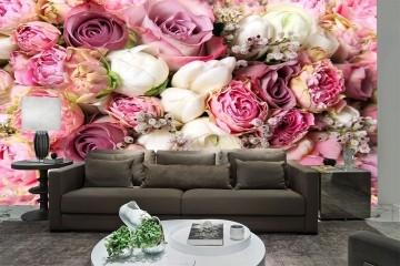 Papel De Parede 3D | Flores 0005 - Adesivo de Parede