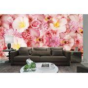 Papel De Parede 3D | Flores 0011 - papel de parede de flores