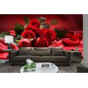 Papel De Parede 3D | Flores 0012 - papel de parede de flores
