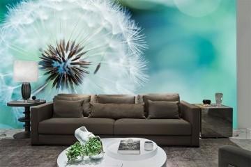 Papel De Parede 3D | Flores 0014 - papel de parede de flores
