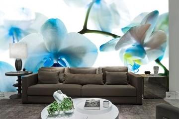 Papel De Parede 3D | Flores 0018 - papel de parede de flores