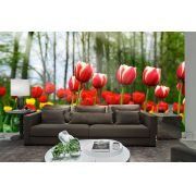 Papel De Parede 3D | Flores 0019 - papel de parede de flores