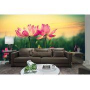 Papel De Parede 3D | Flores 0022 - papel de parede de flores